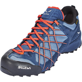 SALEWA Wildfire GTX Shoes Herr dark denim/papavero